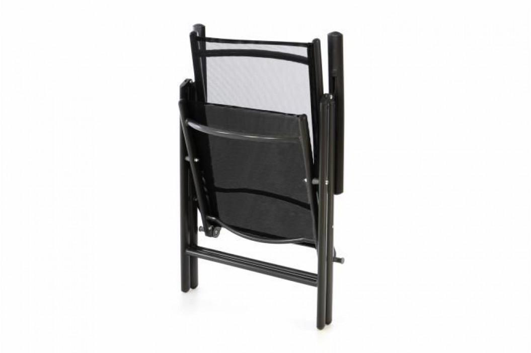 Garthen 40753 Zahradní hliníková židle - černá
