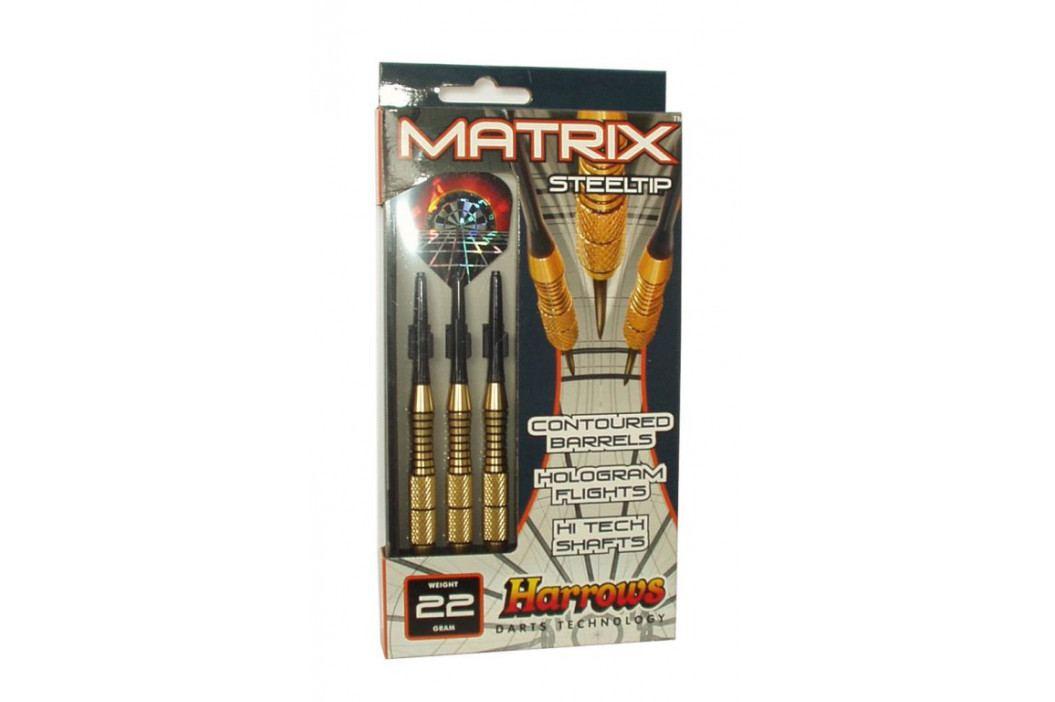Harrows STEEL MATRIX 5816 Šipky s kovovým hrotem 24g obrázek inspirace