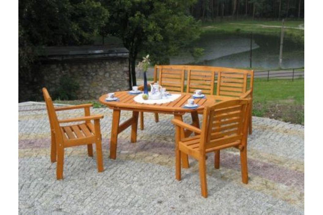 Tradgard EDEN 2709  Dřevěná zahradní lavice FSC