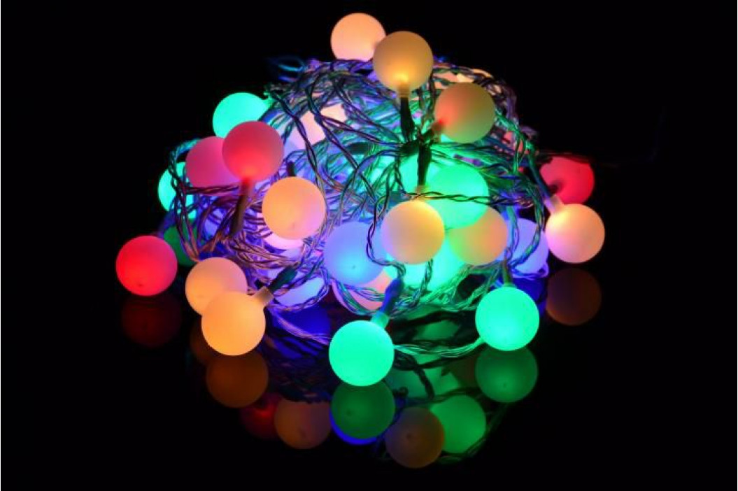 Nexos 35059 Zahradní párty osvětlení - venkovní 50 LED pastelové barvy