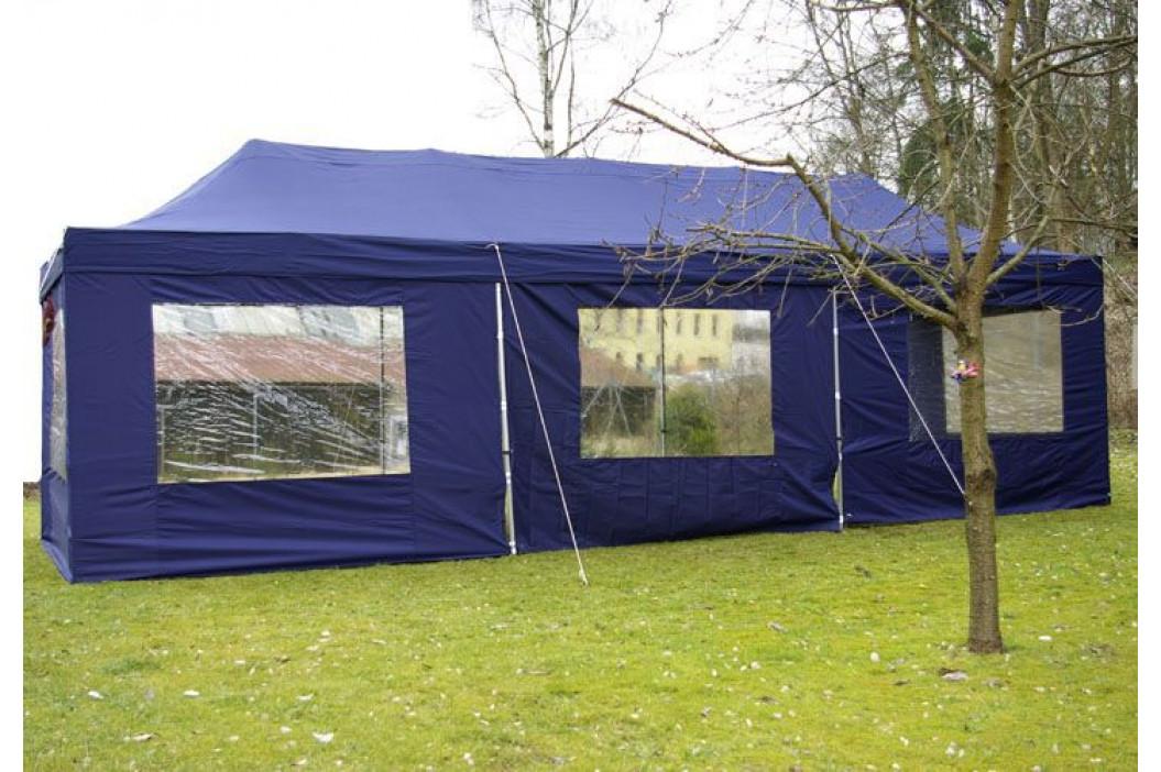 Garthen 406 Zahradní skládací párty stan PROFI - bílá 3 x 9 m