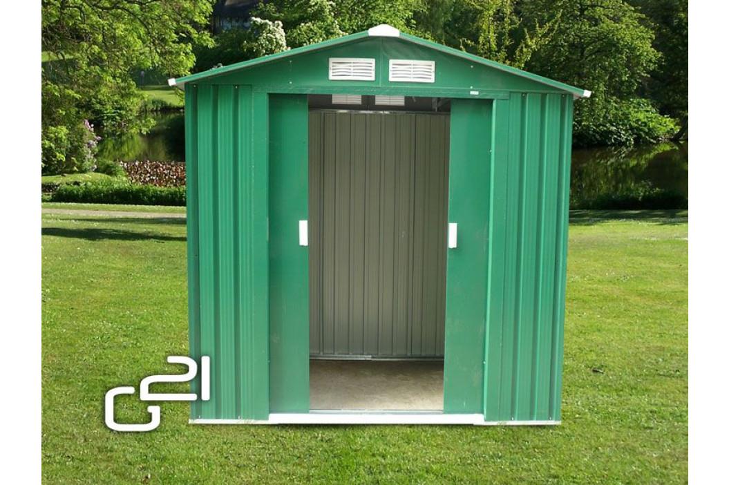 G21 GAH 327 Zahradní domek - 191 x 171 cm, zelený