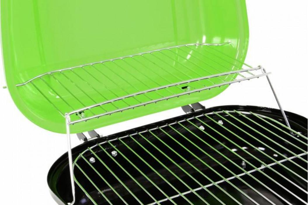 Garthen 2336 Kufříkový gril na dřevěné uhlí - zelený