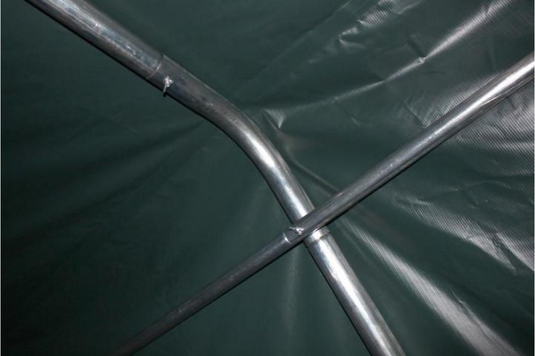 Garthen 47012 Mobilní přístřešek nejen pro zvířata - zelený 3,3 x 6,0 m