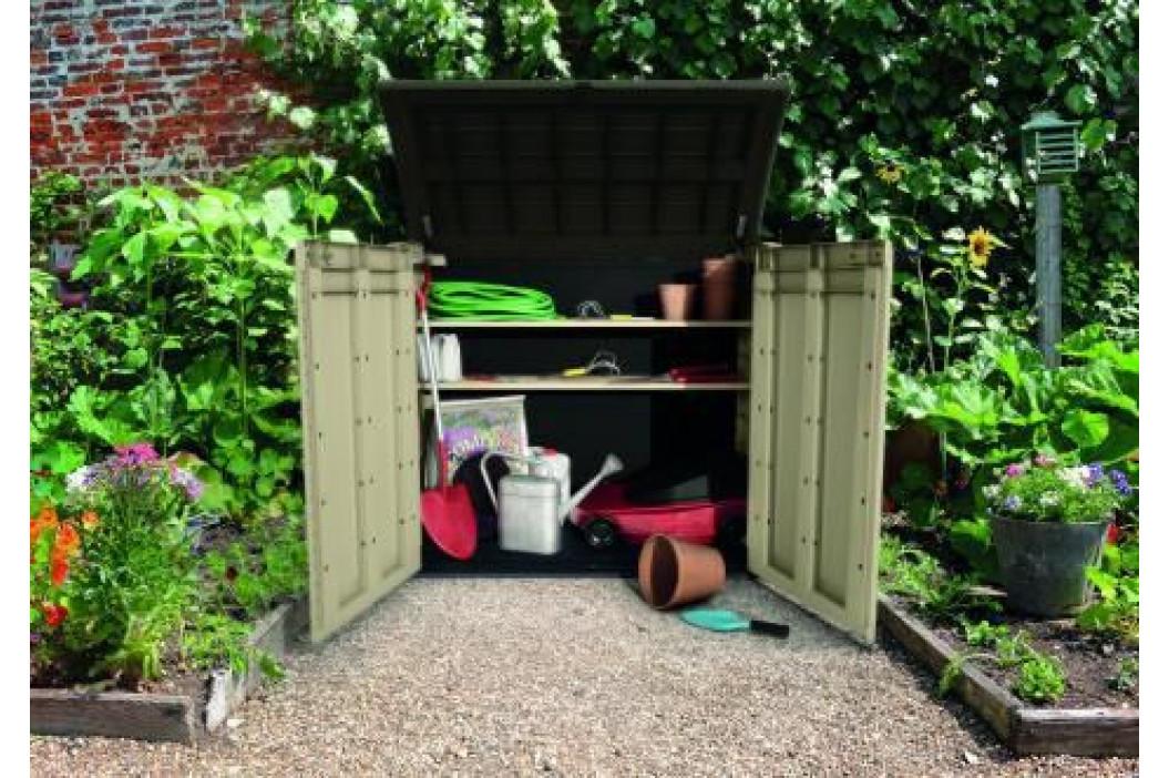 CURVER STORE 41437 Zahradní úložný box - 120 x 146 x 82 cm