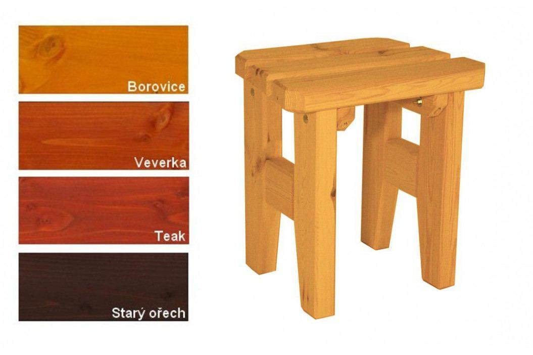 Gaboni Eduard 55584 Zahradní dřevěná stolička - s povrchovou úpravou