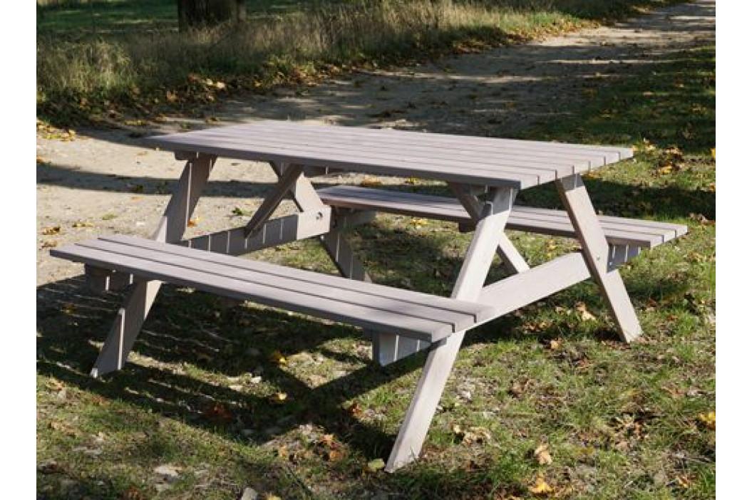 Tradgard PIKNIK 54625 Zahradní set šedý - 160 cm