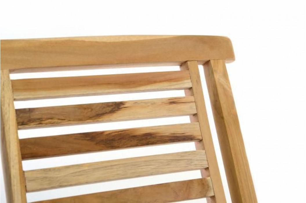 Divero Hantown 41004 Sada 2 ks zahradní židle skládací z masivního týkového dřeva