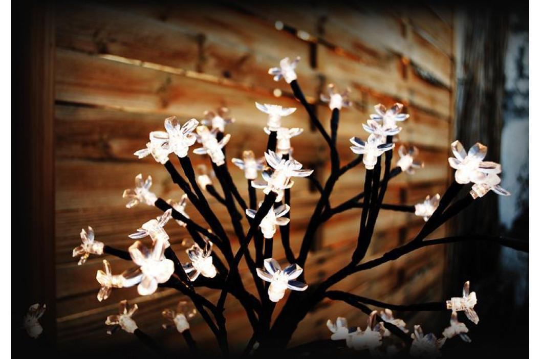 Nexos 1129 Dekorativní LED osvětlení - strom s květy, teple bílé
