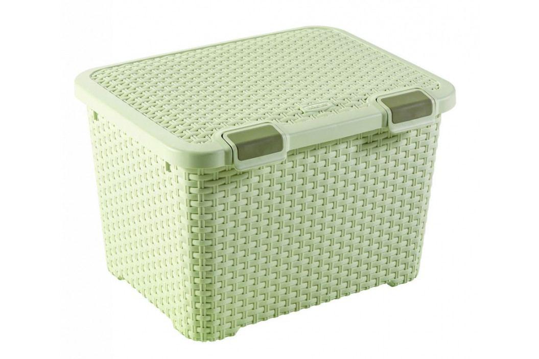 CURVER 41124 Úložný větší plastový box - 43L - krémový