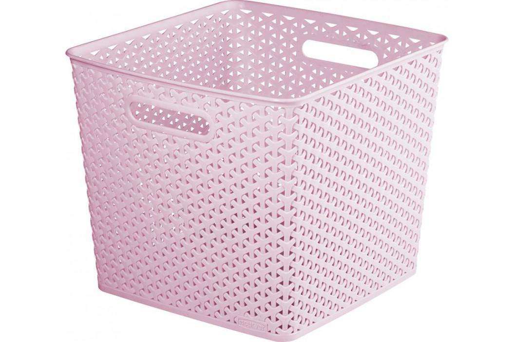 CURVER 41073 Úložný box MY STYLE SQR box - růžový