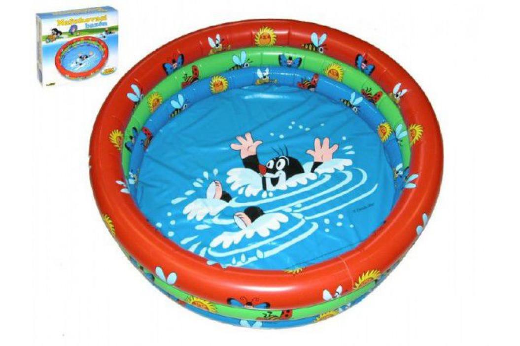 Teddies Krtek 47672 Bazén nafukovací 122x20cm v krabici 1-3 roky