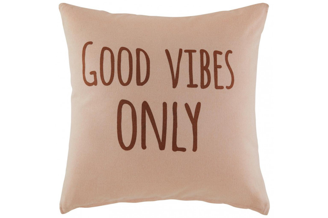 Dekorační Polštář Good Vibes Only