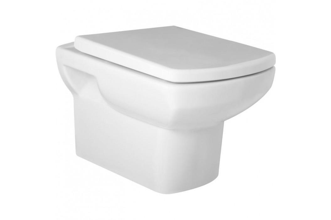 Olsen Spa Závěsné WC Nero Dodáváno: Bez sedátka