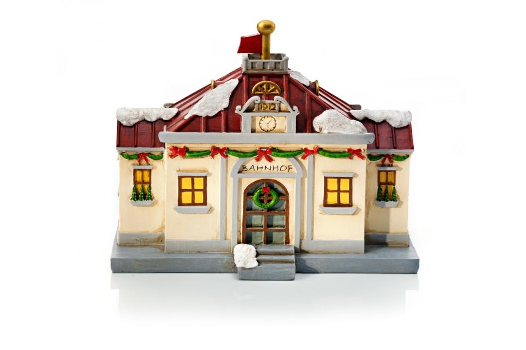 Vlaková stanice Nostalgie s příslušenstvím, 10 kusů