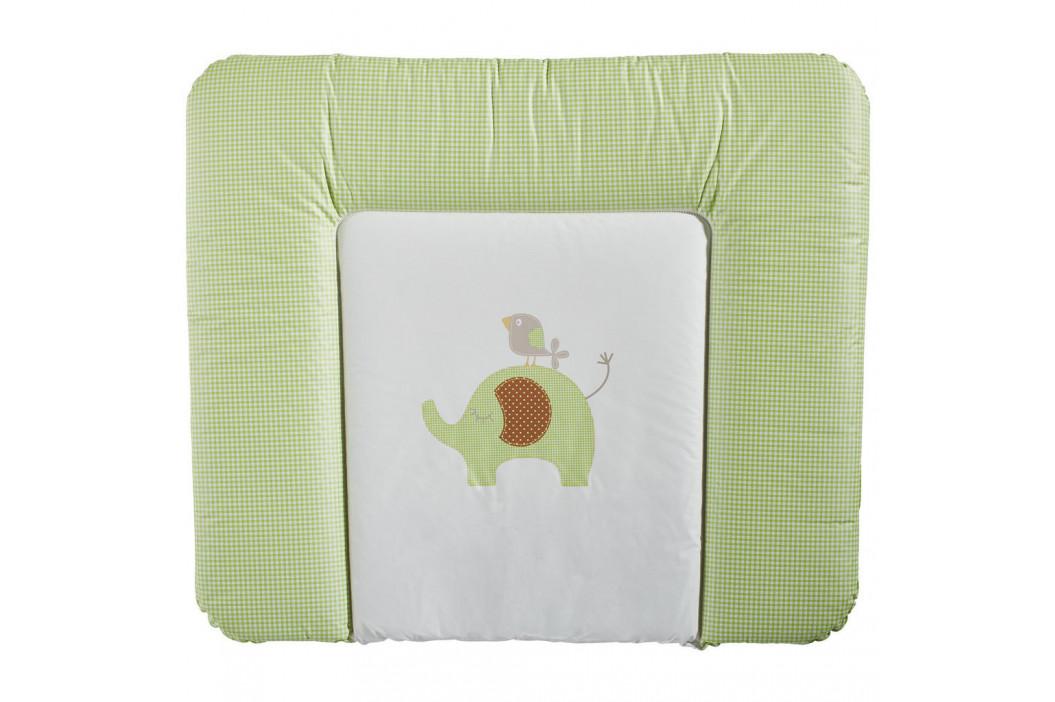 My Baby Lou PŘEBALOVACÍ PODLOŽKA - krémová, zelená