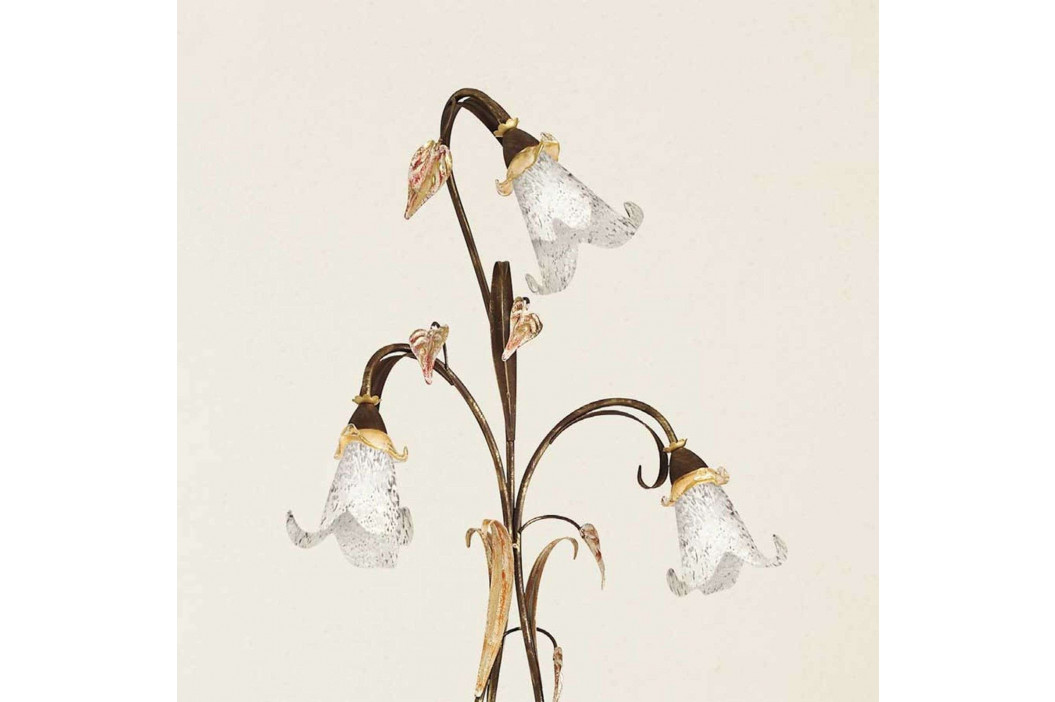 Třízdrojová florentinská stojací lampa Giuseppe