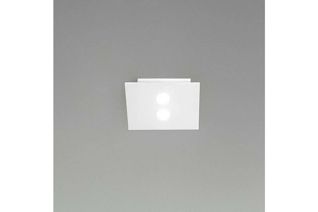 ICONE Slim malé LED stropní svítidlo, 2zdr bílé