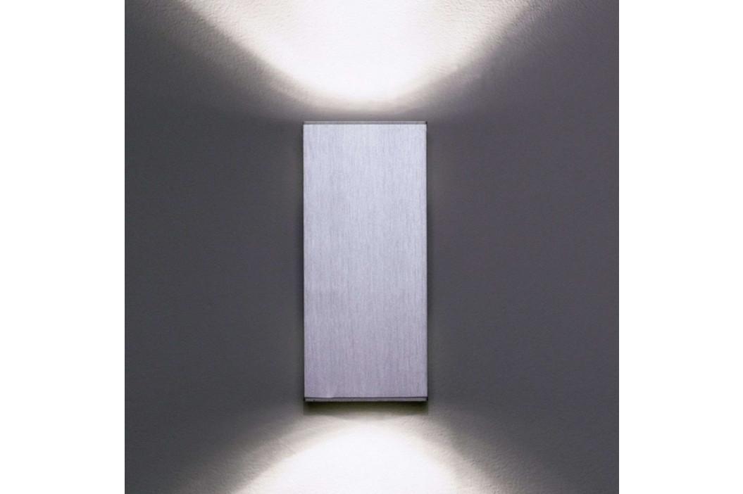 Milan Dau Double - nástěnné světlo hliník
