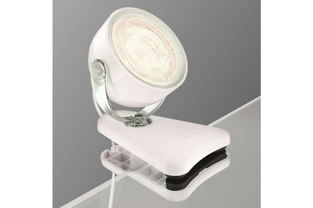 Philips Dyna - LED světlo se svorkou transparentní