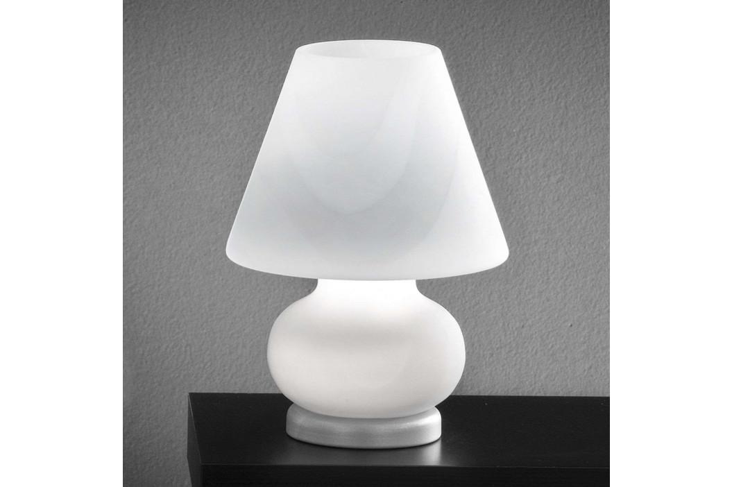 Skleněná stolní lampa Alice, výška 27 cm