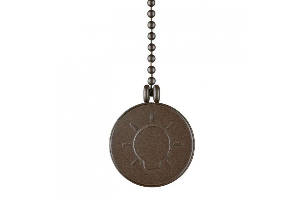 Medailon Westinghouse, závěsný řetěz bronz