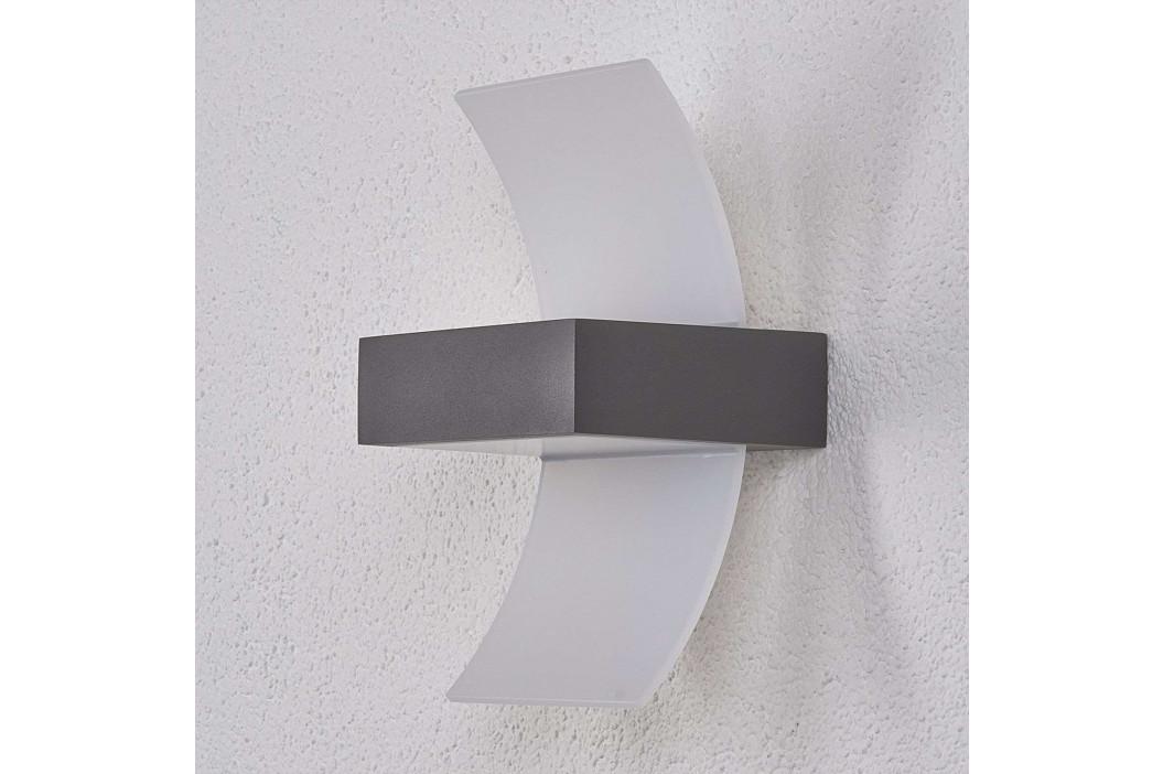Zakřivená venkovní nástěnné LED světlo Skadi