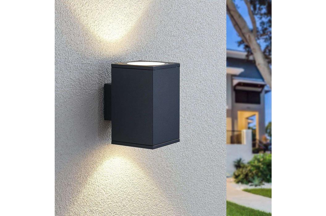 LED venkovní nástěnné svítidlo Mekita, 2zdrojové
