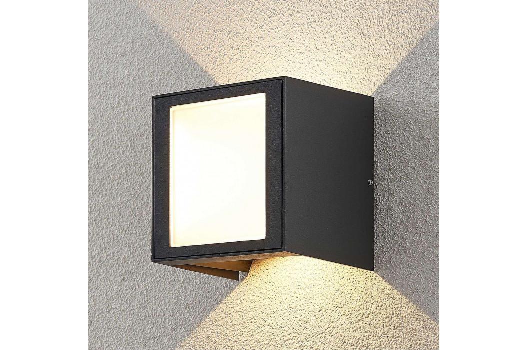 LED venkovní nástěnné svítidlo Alenda hranaté