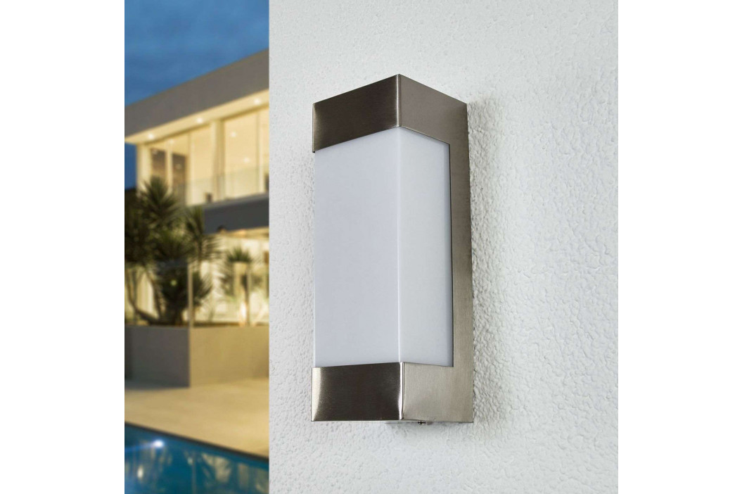 Severina LED nástěnné světlo z nerezové oceli