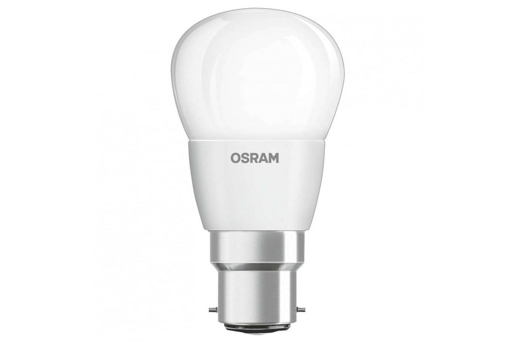 LED žárovka - kapka B22d 5W, bílá, stmívatelná