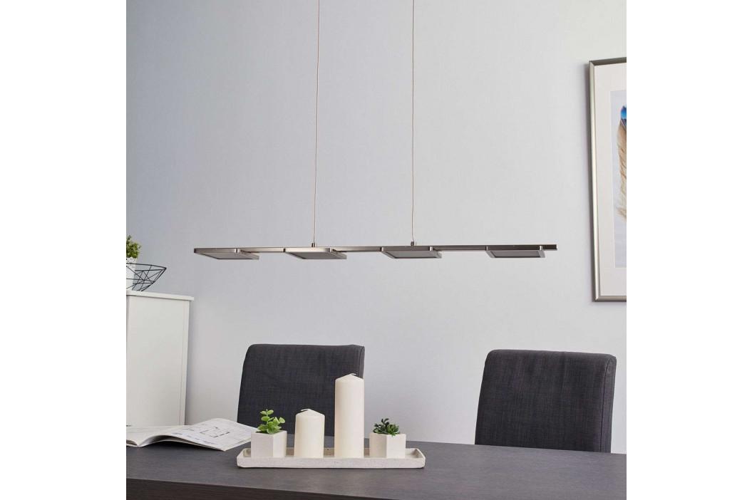 Přímočará závěsná LED lampa Uranus, easydim