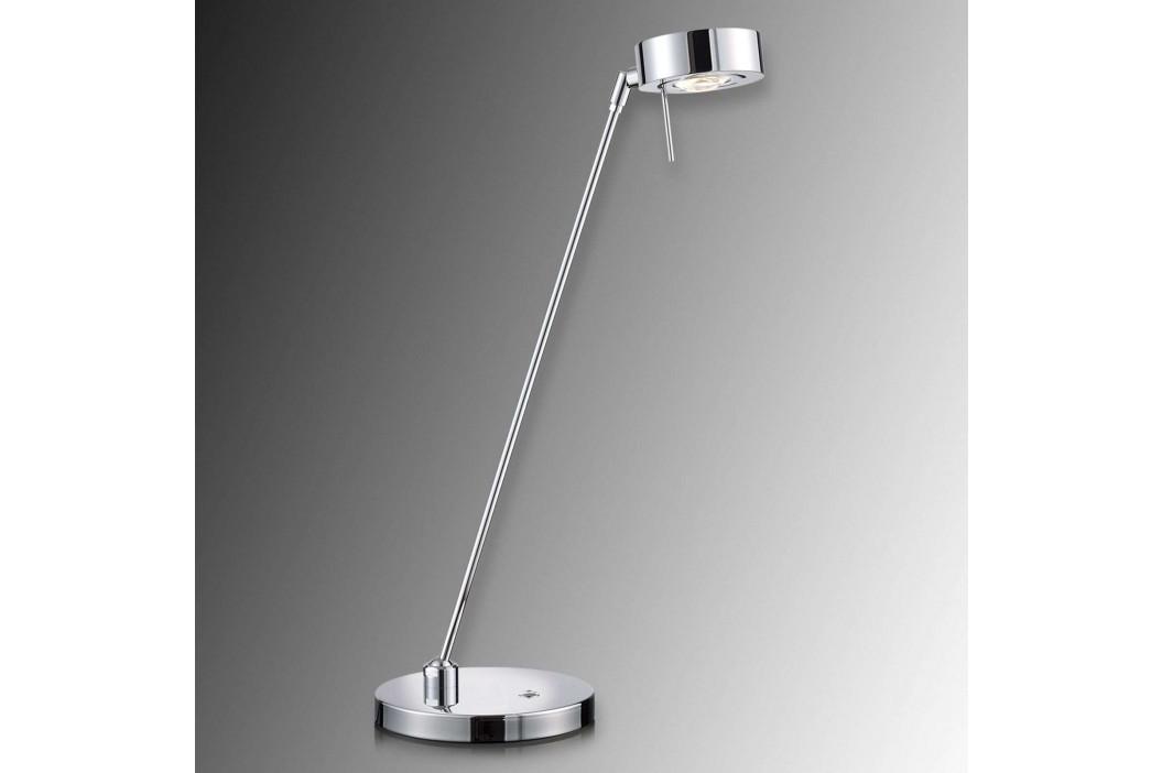 Dvoukloubová stolní lampa LED Elegance, chrom
