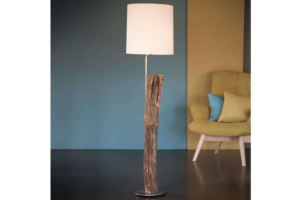 HerzBlut Starý kavalír stojací lampa plotové dřevo