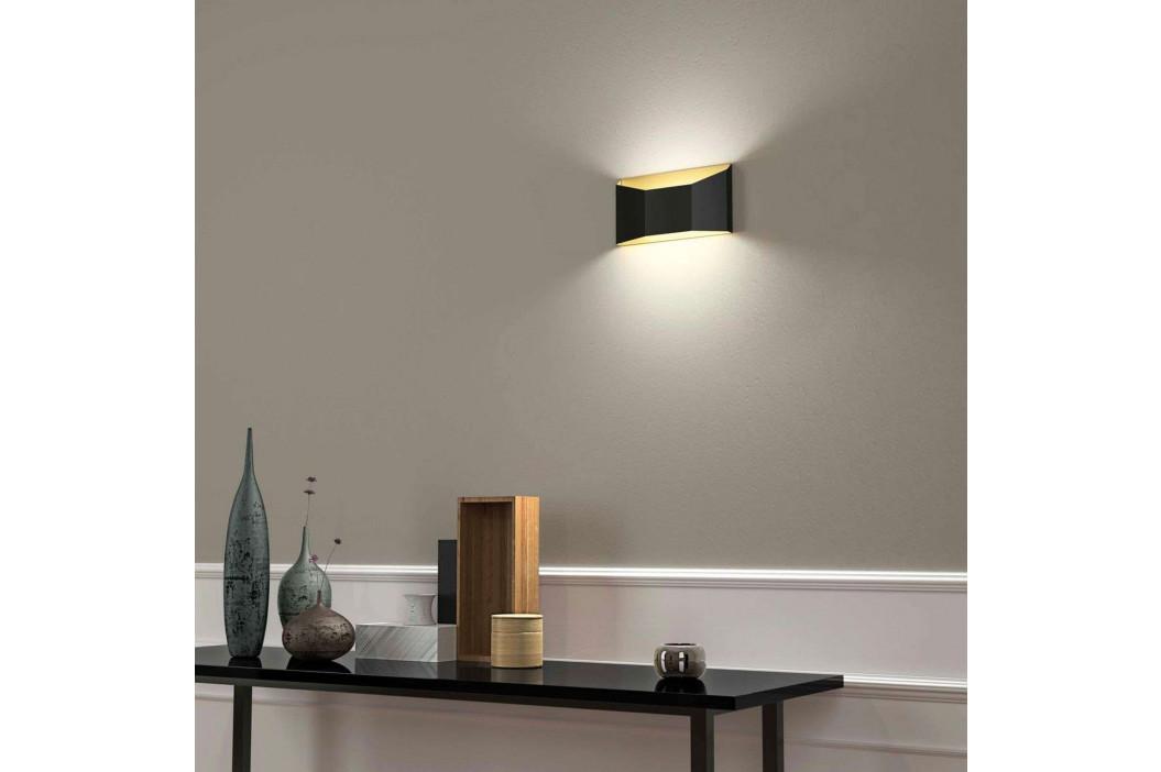 Dvoubarevné LED nástěnné světlo Esa plochý tvar