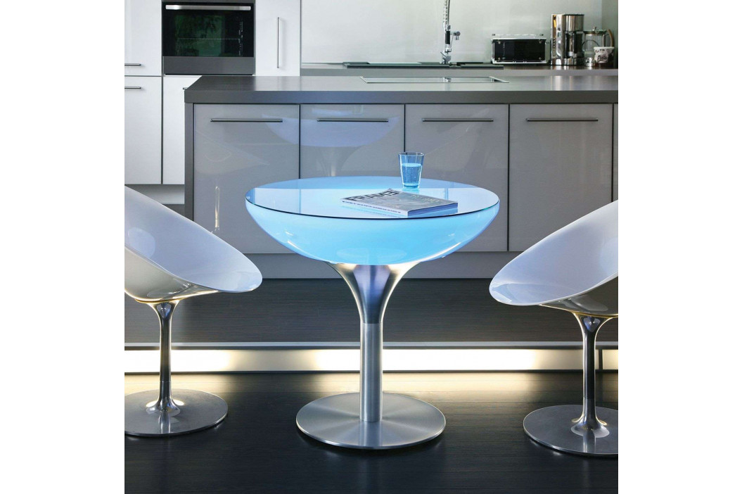 Svítící stůl Lounge Table LED Pro Accu H 75 cm