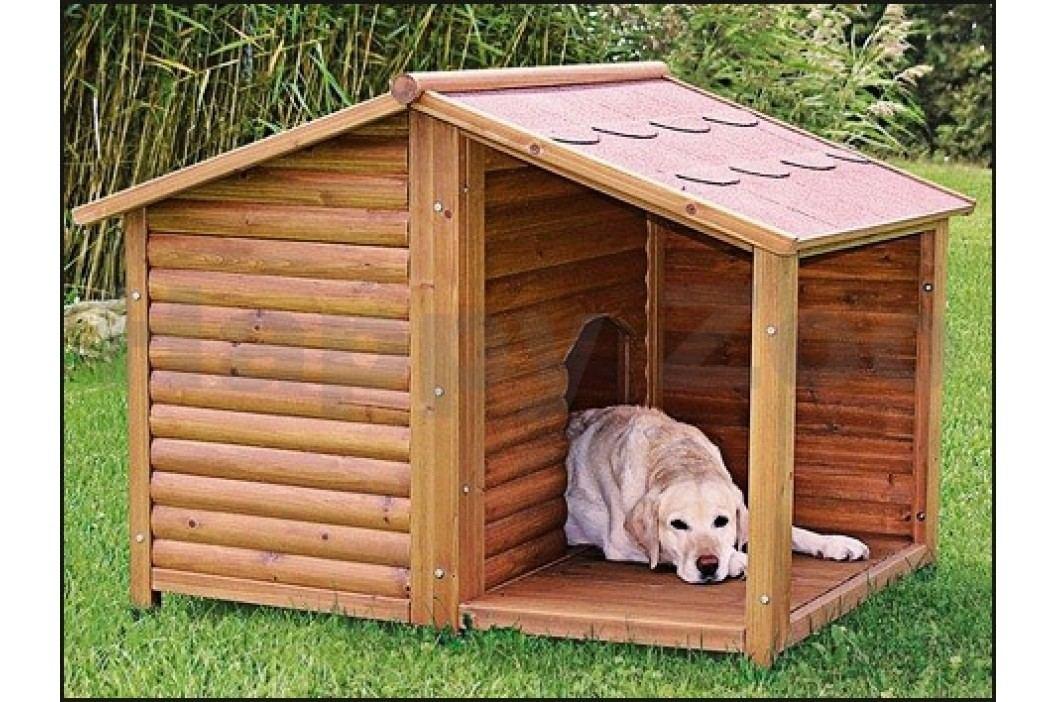 Bouda pro psa TRIXIE s terasou (L) 130x100x105cm