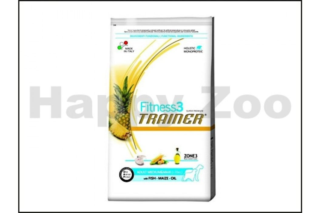 TRAINER Fitness3 Adult Medium & Maxi with Fish & Maize 3kg