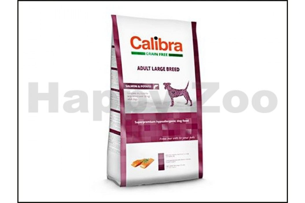 CALIBRA Dog Grain Free Adult Large Breed Salmon & Potato 2kg