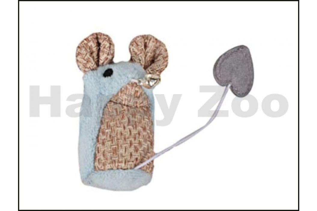 Hračka pro kočky KARLIE-FLAMINGO - Shabby myš 15x8x3,5cm