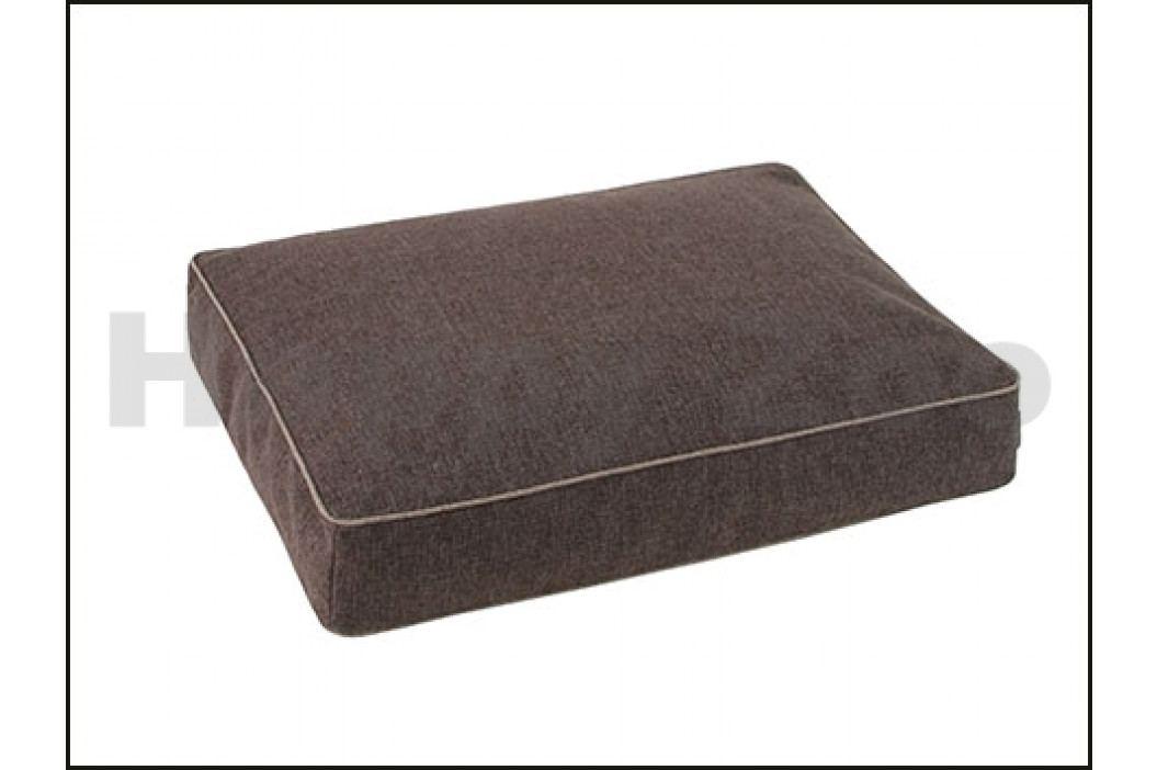 Ortopedická matrace O´LALA PETS Luxury 110x80cm tmavě hnědá