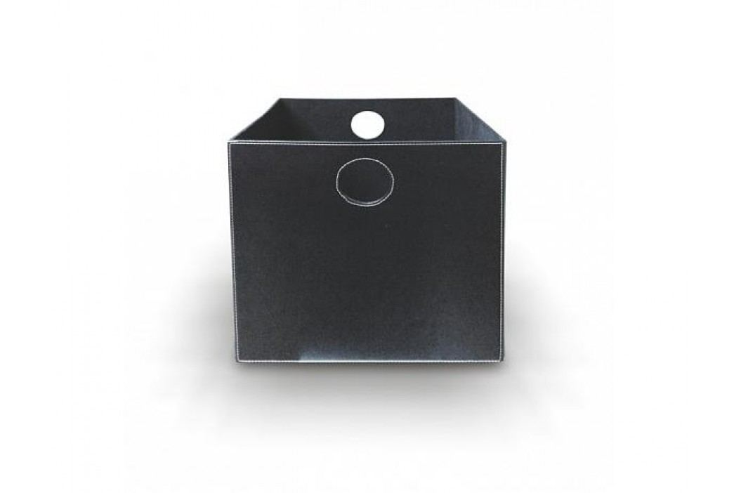 Úložný box, černý, LEXO