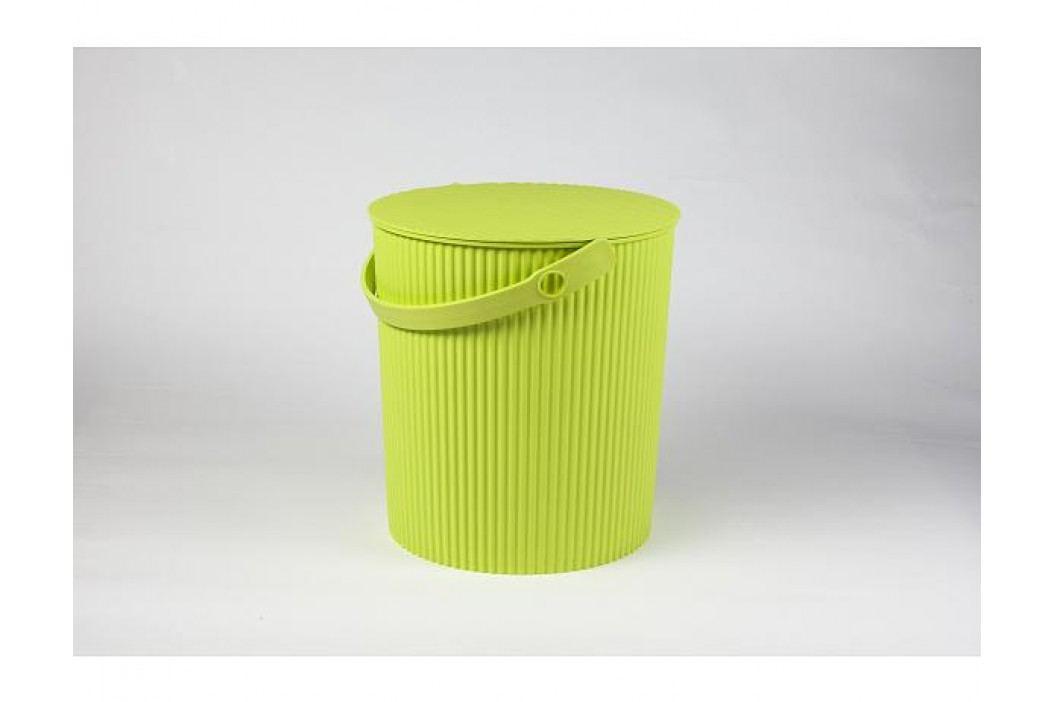 Úložný box, sedátko, stupínek 31cm, zelená