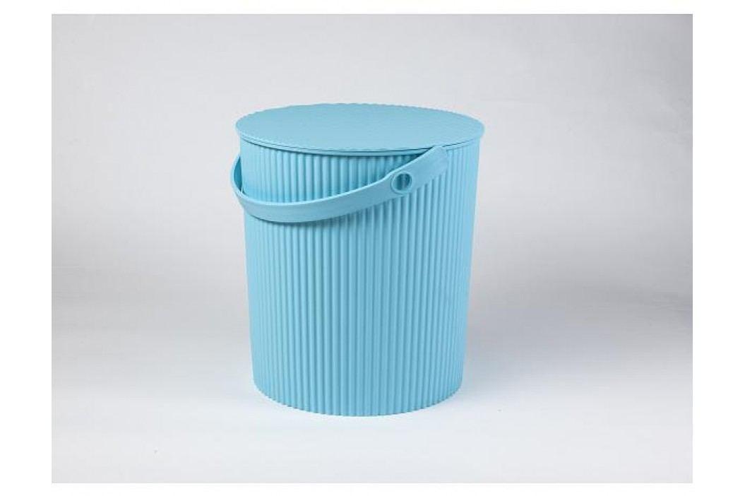 Úložný box, sedátko, stupínek 31cm, modrá