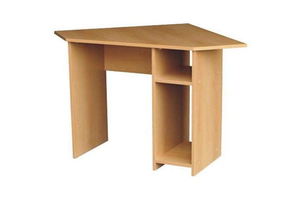 Rohový počítačový stůl PC 06