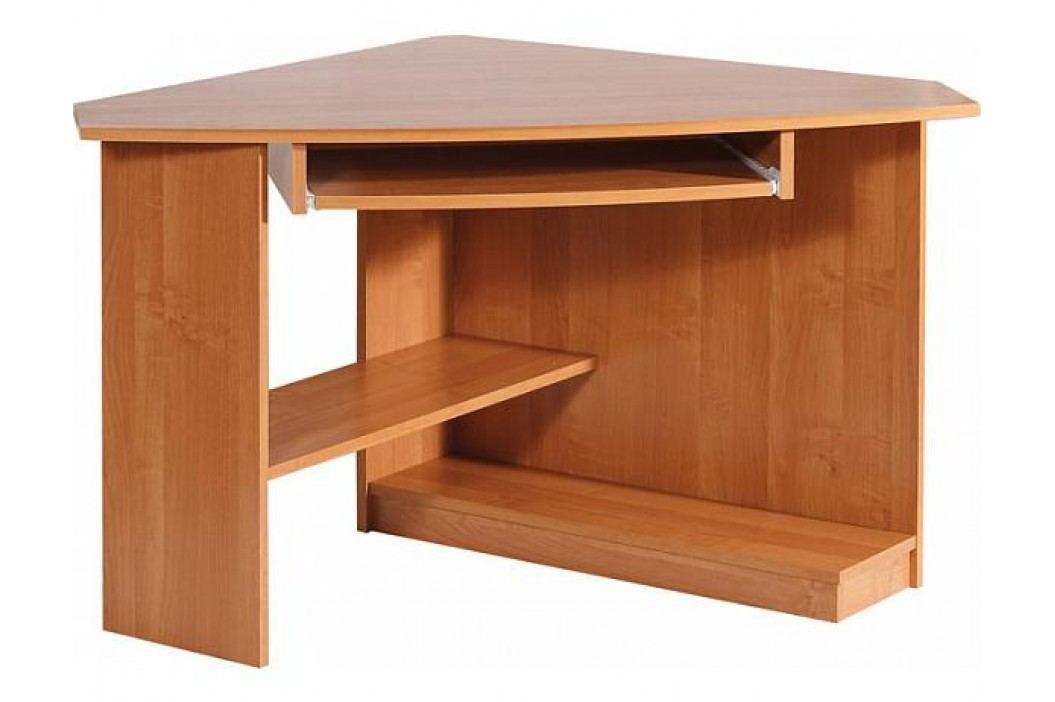 Rohový počítačový stolek Caren, sonoma tmavý