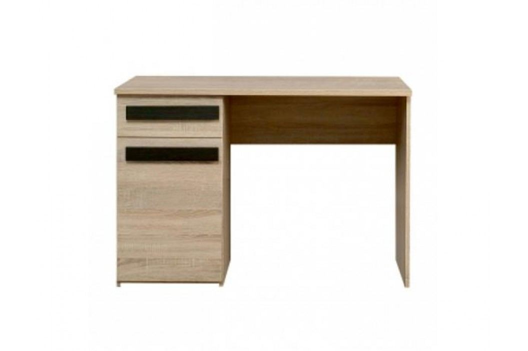 PC stůl 21, dub sonoma / wenge, LOTOS 21