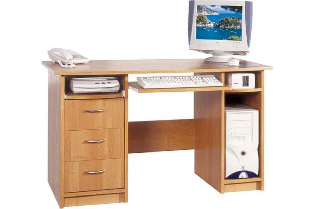 Počítačový stolek President buk