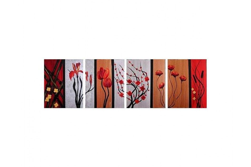 Obrzový set - Květiny