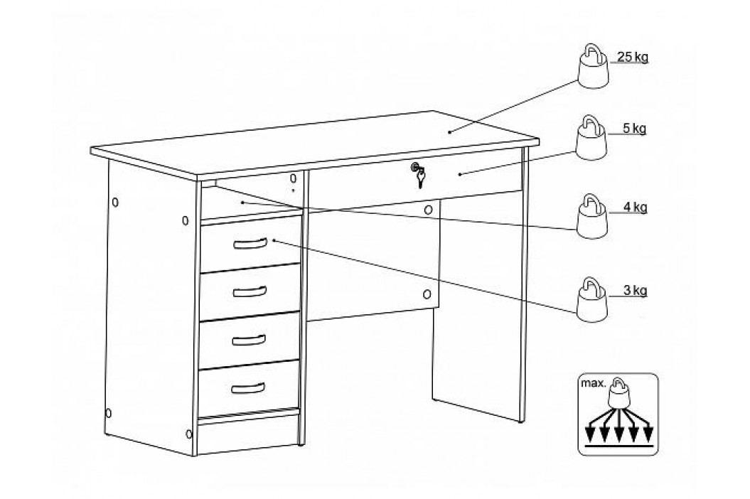 Psací stůl Function 63